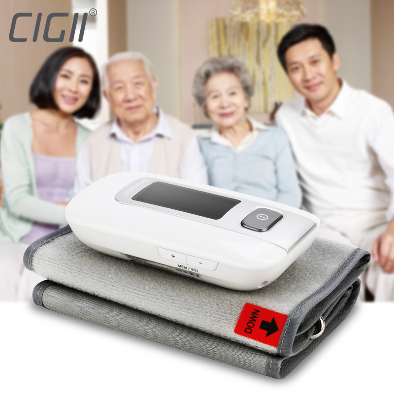 Cigii Portable Pulse Heartbeat Health Care Digital Upper arm integrated Blood Pressure Monitor<br>
