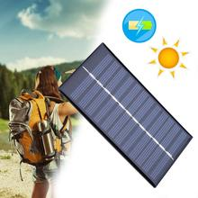 0.8W 6V Solar Cell Power Panel Plate Battery Charger Module For Flashlight Outdoor Travelling Powerbank DIY Module Cell