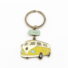 Cartoon Balloon Keychain For Women Car Key Holder Pendant Vintage Bus Camera Motorcycle Key Ring New Fashion Best Christmas Gift