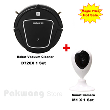 Smart Camera And D720 Dry Robot vacuum cleaner for home with 500ml dustbin 1000Pa Auto charge Vacuum cleaner Aspirador(China)