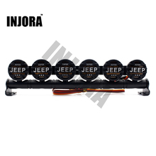 152MM Multi-function Bright LED Light Bar for RC Crawler Jeep Wrangler Axial SCX10 90046 D90 Tamiya Traxxas HSP RC Car(China)