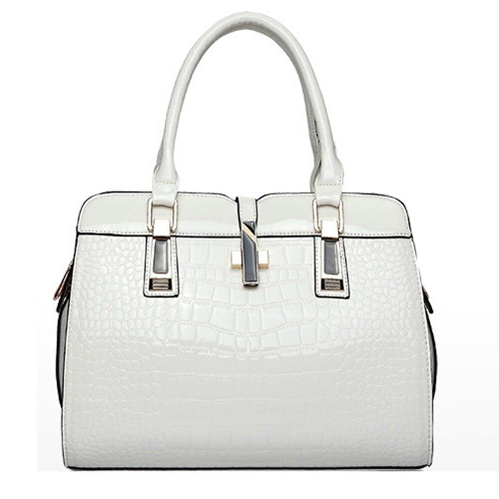 European and American womens fashion ol commuter bag business casual handbag Mobile Messenger wild women bag White<br><br>Aliexpress