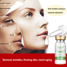 Six Peptides Serum Collagen Vitamin C Serum Skin Defender Lighten Dark Spots Skin Instantly ageless QYANF Argireline Serum(China)