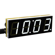 DIY Digital LED Large Screen Display Clock kit with case