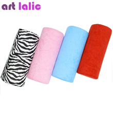 Soft Hand Arm Cushion Pillow Rest Nail Art Manicure Care Treatment Salon Equipment Color Choice #B Art lalic(China)
