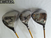 3PCS 4 Star Boyea S-03 Wood Set Golf Woods High Quality Golf Clubs Driver + Fairways R/S-Flex Graphite Shaft With Head Cover