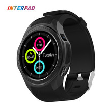 Buy 2018 Interpad MTK2503 GPS Smart Watch Android IOS Bluetooth Phone Clock Xiaomi Samsung Huawei Apple Smartwatch for $67.67 in AliExpress store