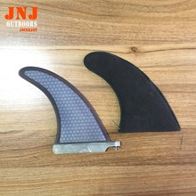 "FREE SHIPPING 2016 top selling 7"" sup fins stand up paddling board centre fins fcs sup fins(China)"