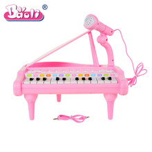 Baoli Baby Infant Toddler Developmental Toy Plastic Kids Musical Piano Early Educational Toy Instrument Gift KS_35(China)