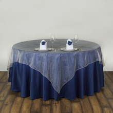 5pcs square Organza Tablecloth Table Cloth Cover Wedding Banqueting Home Waterproof Oilproof dustproof Home Textiles DIY Decor(China)