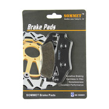 Buy SOMMET Motorcycle Front Brake Pads Disks Honda CRM 250 (89-98) CRM250 LT185 for $8.86 in AliExpress store