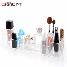 QFENC Clear Med+ Bathroom Medicine Cabinet Organizer Holder Storage Makeup,Medical Supplies,Toothbrush,Vitamins,Beauty Products