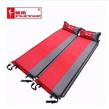 Thick 5CM Outdoor camping mat Air automatic inflatable mattress beach mat seat foam waterproof Can be spliced camping mattres(China)