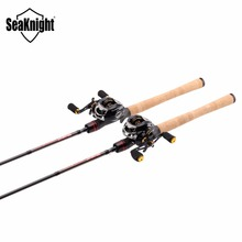 SeaKnight Rod Combo Lure Fishing Casting Rod LEC 2.1M/2.4M with Baitcasting Reel Max Drag 5KG11+1BB LYCAN Fishing Wheel(China)