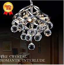 Luxury crystal chandelier modern minimalist fashion creative personality Restaurant Bar Crystal Light Chandelier