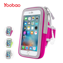 Yoobao 001/004 Universal Sport Arm Case For iPhone 7 6 6S 5s 5 SE Running Phone Case for iPhone Pouch Cover Case(China)
