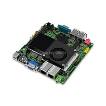 QOTOM Nano ITX Motherboard with Core i3 processor onboard, 2 LAN, Core i3 X86 Mini itx Motherboard