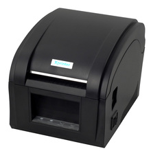 High quality 20-82mm  USB port Thermal barcode printer  Thermal Qr code label printer receipt printer wholesale XP-360B