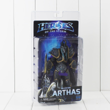 "NECA Heroes of The Storm The Lich King Arthas Cool PVC Action Figure Toys Model Dolls For Collections 7"" 18cm"