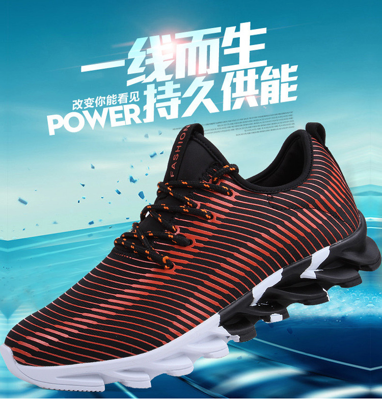 17New Hot Light Running Shoes For Men Breathable Outdoor Sport Shoes Summer Cushioning Male Shockproof Sole Athletic Sneakers 2