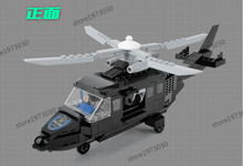 Police station SWAT Armored car jeep Military Series6505 3D Model building blocks compatible with lego city Boy Toy hobbies Gift