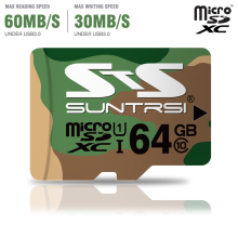 Suntrsi Original Micro SD Card Green Memory Card 128/64/32/16gb class 10 Microsd 8gb class 6 TF Card micro  for phones cameras