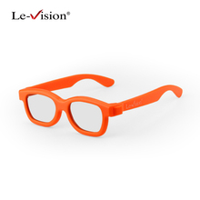 Le-Vision Kids 3D Glasses New RealD Circular Polarized 3D Glasses Passive Eyewear for LG Cinema 3D DLP Pojector Home Theater(China)