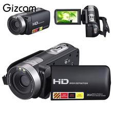 Gizcam HD 1080P Night Vision Digital Camera 16x Zoom Video Camcorder Cam Support Remote control photographique kamera camara(China)