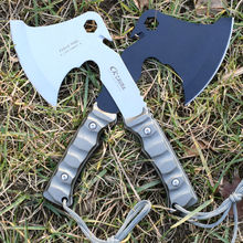 Hot Sale CK Tactical Axe Tomahawk Multi Army Outdoor Hunting Camping Survival Machete Axes Hand Outdoor Tools Hatchet Fire Axe 1(China)