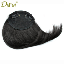 Buy DIFEI Short Gradient Bangs Women Natural Fake Hair Heat Resistant Synthetic Hair for $3.12 in AliExpress store