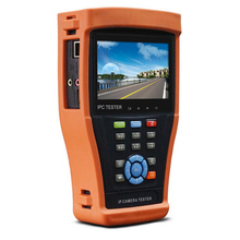 IPC-4300 4.3 Inch Touch Screen Security IP Camera Tester Support ONVFI 720P/1080P Camera,PTZ Control PoE Test SDI/ TVI / CVI/A