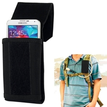 Stylish Outdoor Water Resistant Fabric Cell Phone Case, Size: approx. 17cm x 8.3cm x 3.5cm