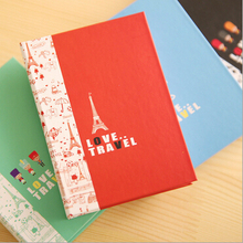 Flying over London New Decorative notepad with pen Portable memo pad Gift note pad(China)