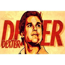 P0566 Dexter 8 TV Poster Custom Canvas Poster Art Home Decoration Cloth Fabric Wall Poster Print Silk Fabric(China)