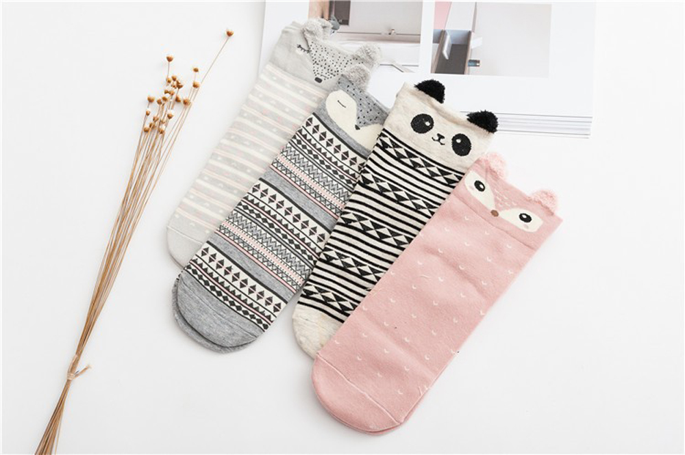 17 New Lovely Cartoon Women Socks High Quality Cotton Sox Japanese Fashion Style Socks Autumn Winter Warm Socks For lady Girls 10