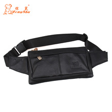 Men Cowhide Genuine Leather Military Cell/Mobile Phone Cover Case skin Hip Belt Bum Purse Fanny Pack Waist Bag Pouch with belt