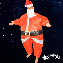 Cheerleading Uniforms Special Christmas cosplay creative costumes Adult inflatable Santa Claus Walking performance Clothing(China)