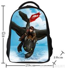 How to Train Your Dragon  Cartoon Anime Children Kids Backpacks Boys Girls Student travel zipper School Bags