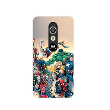 21271 Marvel Comic Book Characters cell phone case cover for For Motorola Moto G3 G4 X+1 PLAY PLUS ONE style