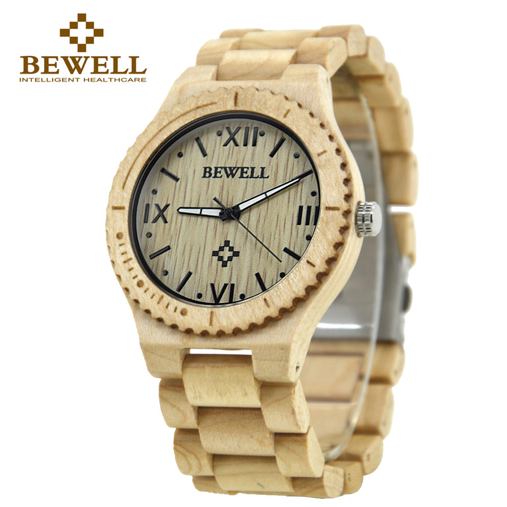 BEWELL 2017 Fashion Wood Watch Design Watch Of Men Brand Luxury Simple Watches Relogio Masculino black friday 065A<br><br>Aliexpress
