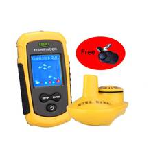 125KHz portable fish finder Wireless Sonar Fish Finder River Lake Live Depth Contour Waterproof Sensitive Fishfinder(China)