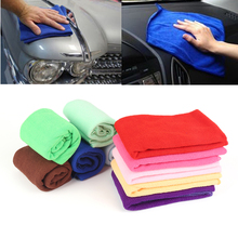 10 PC Universal Car 30*30cm Soft Microfiber Cleaning Towel Car Auto Wash Dry Clean Polish Cloth Multi-function Towel Car