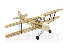 2017 New De Havilland DH82a Tiger Moth Biplane 1400mm Laser Cut Balsa Kit (Gas Power Electric Power) Woodiness model /WOOD PLAN(China)