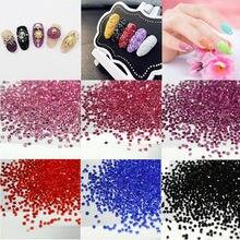 Approx.1440Pcs Zircon Micro Diamond DIY Nails Rhinestones Crystal Rhinestones  Nail Art Manicure Decorations DIY Beauty Tools New efce3cad8b62