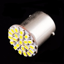1156 P21W BA15S R10W R5W G18 22 SMD 3014 LED Car Daytime Running Light Auto Tail Side Indicator Bulbs Parking Lamp 12V White