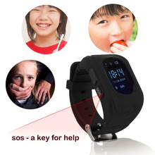 Top Quality NEW Q50 Smart Watch Phone Kids OLED Q50 GSM GPRS Locator Tracker Anti-Lost Kids SmartWatch for iOS Android