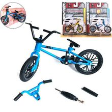 New High quality mini BMX finger bike toys decoration Mountain bicycle Adult children kids boys funny gadgets toys fun(China)