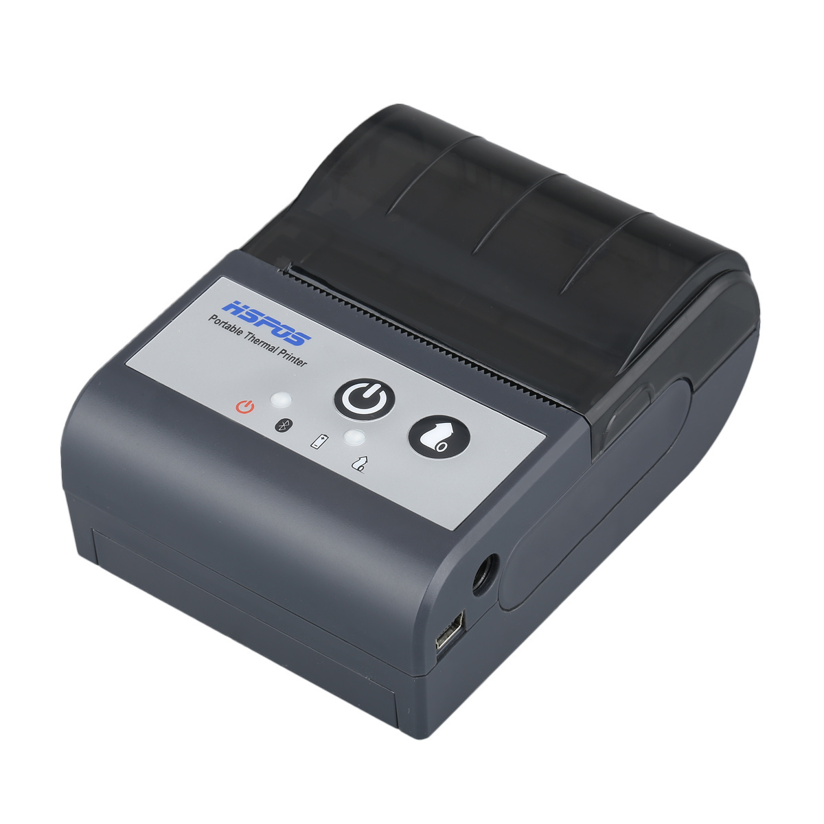 Arabic Language Mini 58mm Thermal Receipt Pos Printer with 1500mA Battery UK Adapter By Aramex Shipping