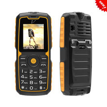 "DTNO.I Vphone A11 1.77"" TFT Rugged Phone Waterproof Shockproof Dustproof Mobile Phones MTK6261 FM Radio Old Man Phone in Stock(China)"