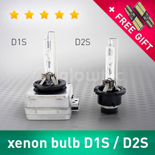 2 pcs 35W D1S D2S Bulb HID Xenon Lamp Car Light Headlight 4300K 5000K 6000K 8000K 10000K 12000K auto GLOWTEC + FREE GIFT